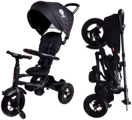 Велосипед детский трехколесный Modi QPlay с родительской ручкой Черный