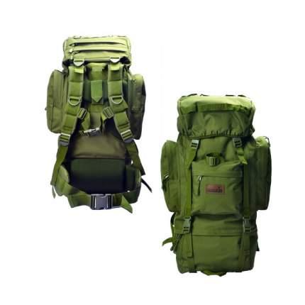 Туристический рюкзак Norfin Tactic NF 65 л зеленый