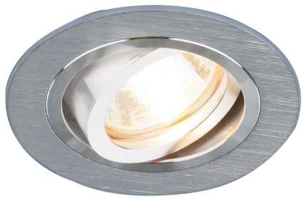 Встраиваемый точечный повортный светильник Elektrostandard 1061/1 MR16 SL Серебро a036417