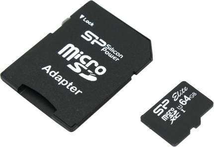 Карта памяти Silicon Power Micro SDXC Superior 64GB