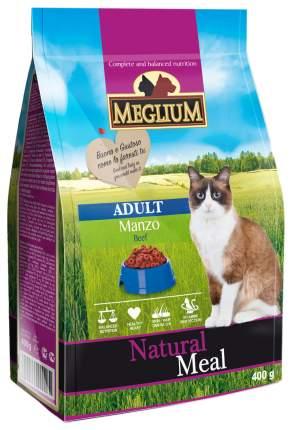 Сухой корм для кошек Meglium Adult, говядина, 0,4кг