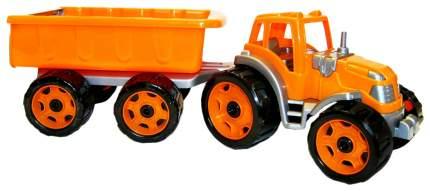 Игрушечная машинка ТехноК Трактор с прицепом