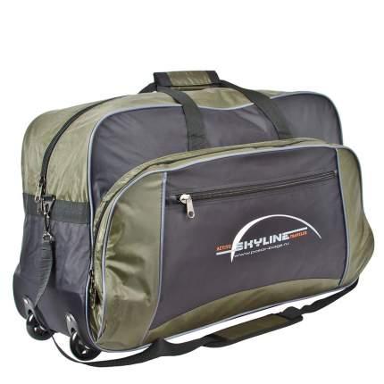 Дорожная сумка Polar 6025 хаки 75 x 44 x 27
