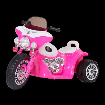 Электромотоцикл Farfello JT568 розовый