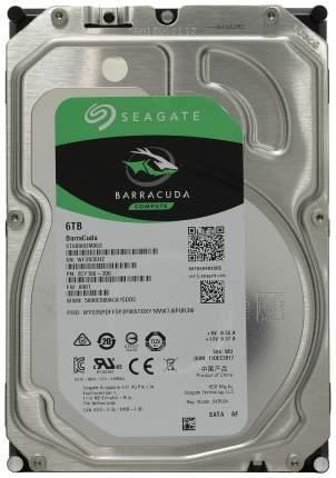 Внутренний жесткий диск Seagate BarraCuda 6TB (ST6000DM003)