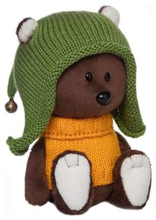 Мягкая игрушка Budi Basa Медведь Федот в шапочке и свитере 15 см