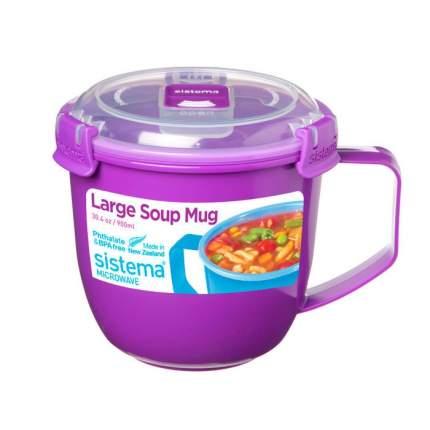 Sistema Кружка суповая Microwave 900 мл