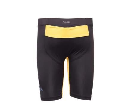 Шорты компрессионные Adidas Training Vale Tudo Short MMA черно-желтые L