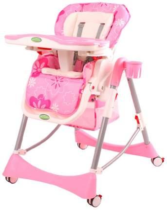 Стульчик для кормления BabyOne H1008R Розовый