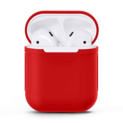 Чехол для беспроводных наушников Apple AirPods Red