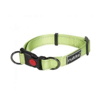 Ошейник для собак RUKKA Bliss 20мм (30-40см) зеленый
