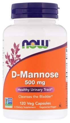 Добавка для здоровья NOW D-Mannose 120 капс. натуральный