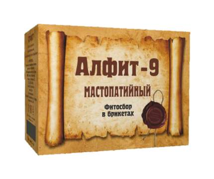 Чайный напиток Алфит-9 мастопатийный 60 брикетов х 2 г