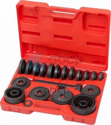Набор оправок для монтажа ступичных подшипников, кейс, 22 предмета 100-30022C Мастак