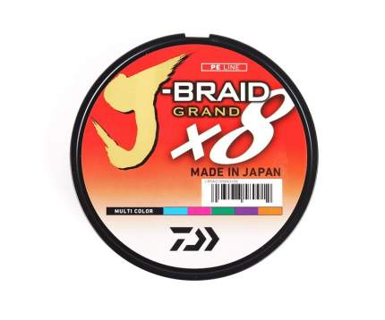 Леска плетеная Daiwa J-Braid Grand X8 0,13 мм, 150 м, 8,5 кг