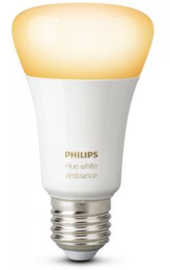 Умная лампа Philips Hue White Ambiance E27 (White)