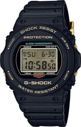 Японские наручные часы Casio G-Shock DW-5735D-1B с хронографом