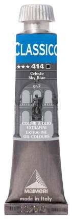 Масляная краска Maimeri Classico небесный 20 мл