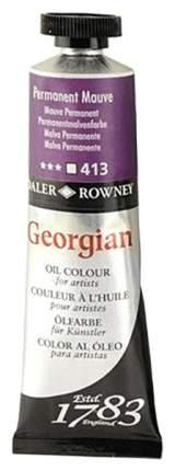 Масляная краска Daler Rowney Georgian лилово-розовый 75 мл