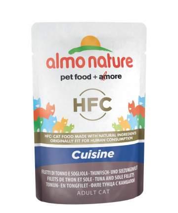Влажный корм для кошек Almo Nature HFC Cuisine, рыба, тунец, 55г