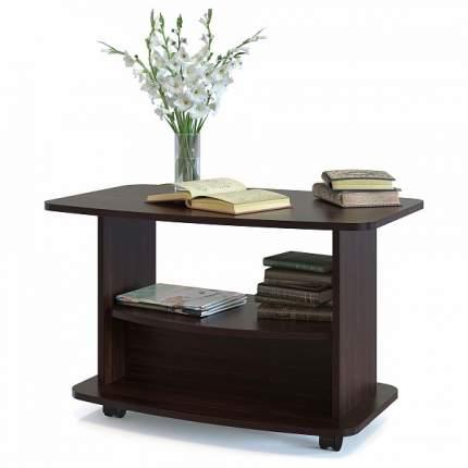 Журнальный стол СОКОЛ 54х90х50 см, коричневый