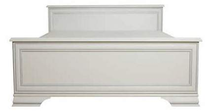 Кровать двуспальная BlackRedWhite Кентаки 160х200 см, белый