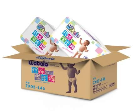 Подгузники-трусики Wobalo L 9-14кг 46 шт 2 упаковки