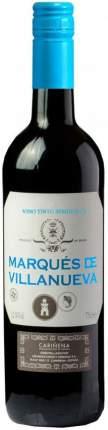 Вино Marques de Villanueva Tinto Semidulce Carinena DO
