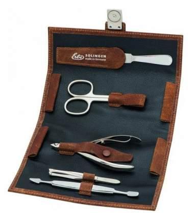 Маникюрный набор Erbe Solingen 5 предметов, коричневый