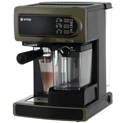 Рожковая кофеварка Vitek VT-1517 BN Brown