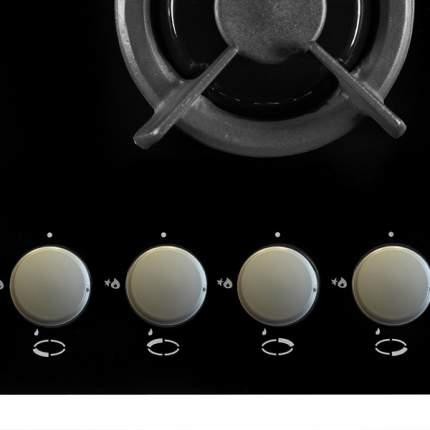 Встраиваемая варочная панель газовая Hansa BHGI63112035 Black