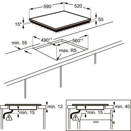 Встраиваемая варочная панель индукционная Electrolux EHI96540FS Silver