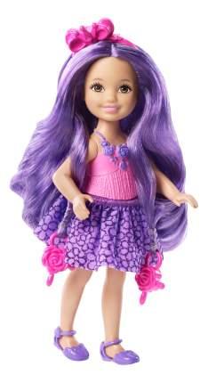 Мини-кукла Barbie Челси с фиолетовыми волосами DKB54 DKB58