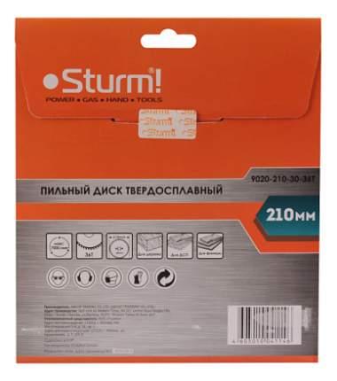 Диск по дереву для дисковых пил Sturm! 9020-210-30-36T