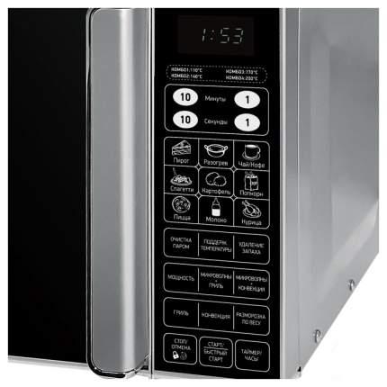 Микроволновая печь с грилем и конвекцией BBK 23MWC-982S/SB-M grey/black