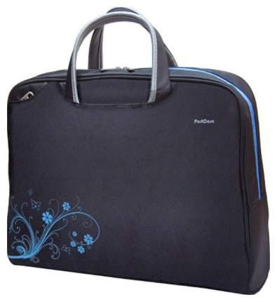 """Сумка для ноутбука 15.6"""" PortCase KCB-50 черная"""