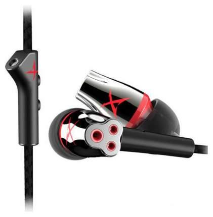 Игровые наушники Creative Sound BlasterX P5 Black/Red