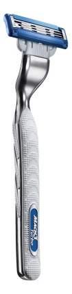 Мужская бритва Gillette Mach3 Turbo с 2 сменными кассетами