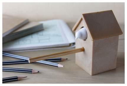 Точилка для карандашей Qualy Cuckoo белый