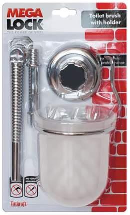 Гарнитур для туалета Tatkraft Mega Lock настенный Белый/Хром
