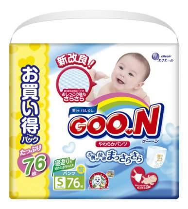 Подгузники Goo.N Ultra Jumbo Pack S (5 до 9 кг), 76 шт.
