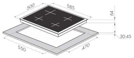 Встраиваемая варочная панель газовая MAUNFELD MGHЕV.64.43RBGB Beige