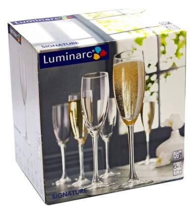 Набор фужеров Luminarc signature для шампанского 170 мл 6шт