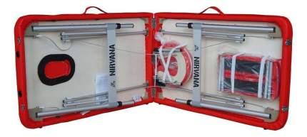 Массажный стол DFC Nirvana Elegant Optima красный