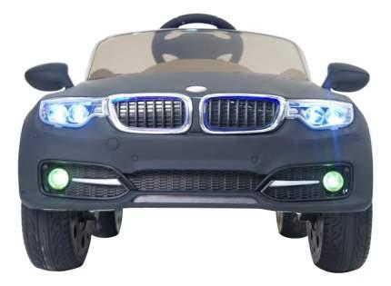 Электромобиль BMW черный матовый RIVERTOYS