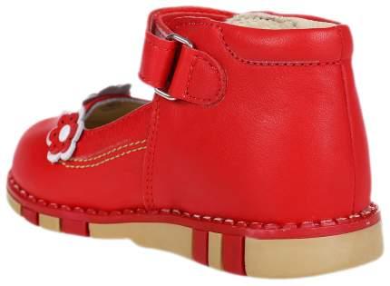 Туфли Таши Орто Цветочки красные
