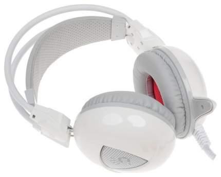 Игровые наушники A4Tech Bloody G310 White/Cyan