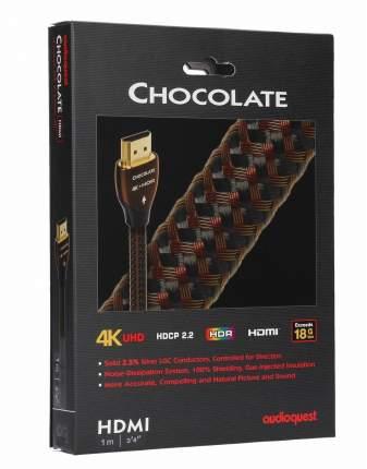 Кабель AudioQuest HDMI Chocolate 1,0m Braided