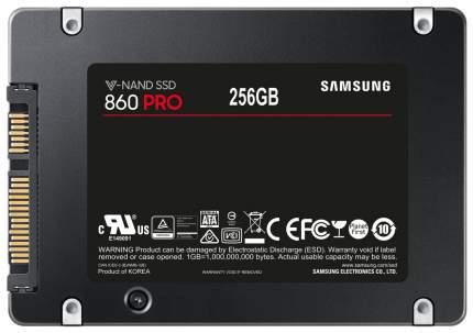 Внутренний SSD накопитель Samsung 860 PRO 256GB (MZ-76P256BW)