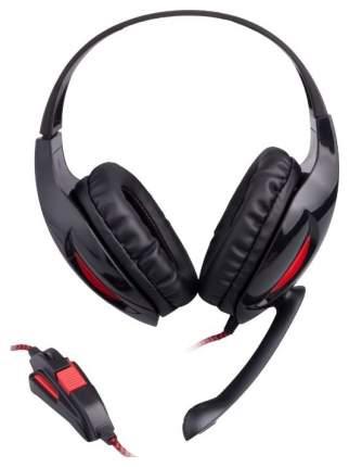 Игровые наушники Genesis H44 Red/Black
